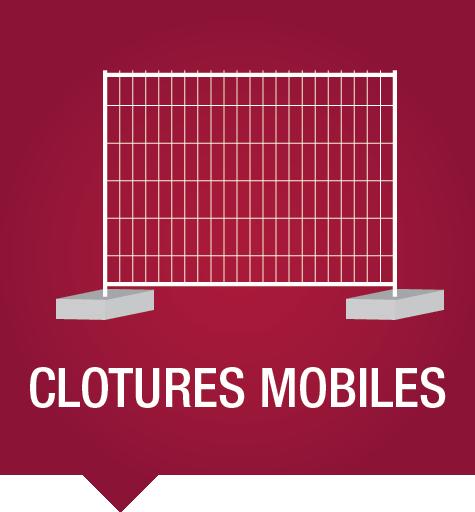 Clôtures mobiles