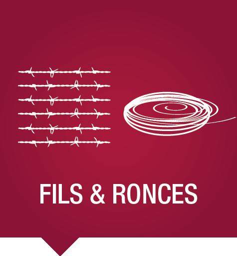 Fils et ronces pour clôtures