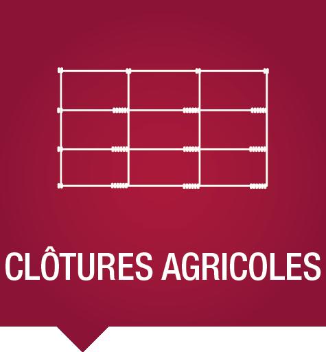 Clôtures agricoles