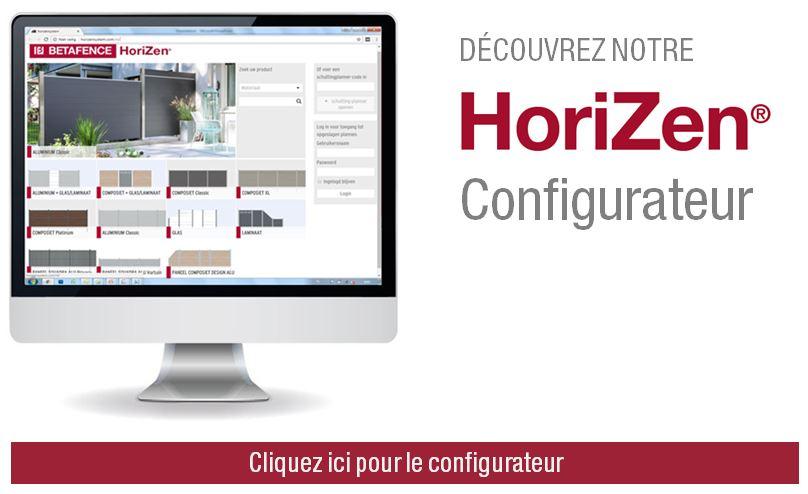 HoriZen configurateur