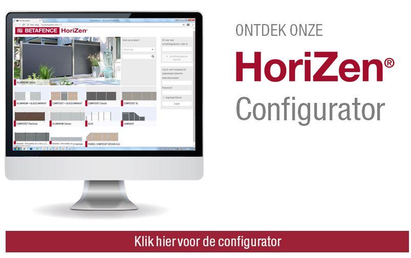 Ontdek hier de HoriZen configurator