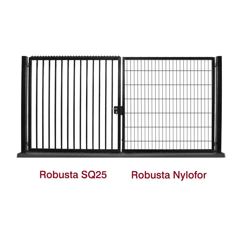 Portails Robusta SQ25 et Nylofor