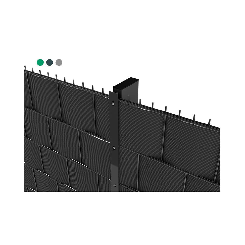 lichte dubbeldraad paneelafsluiting nylofor 2d betafence. Black Bedroom Furniture Sets. Home Design Ideas